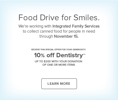 Aurora Village Dental Group - Food Drive